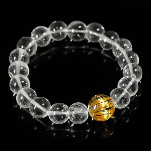ルチルクォーツ+ガネッシュヒマール産ヒマラヤ水晶のイメージ画像5