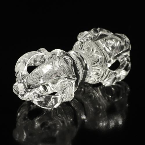 ガネッシュヒマール産ヒマラヤ水晶のヴァジュラ_2