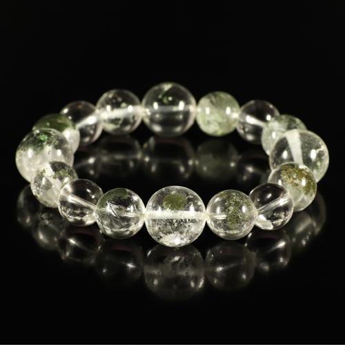 ガネッシュヒマール産ヒマラヤ水晶『12mmアップ』ブレスレット画像1