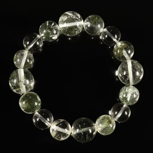 ガネッシュヒマール産ヒマラヤ水晶『12mmアップ』ブレスレット画像2